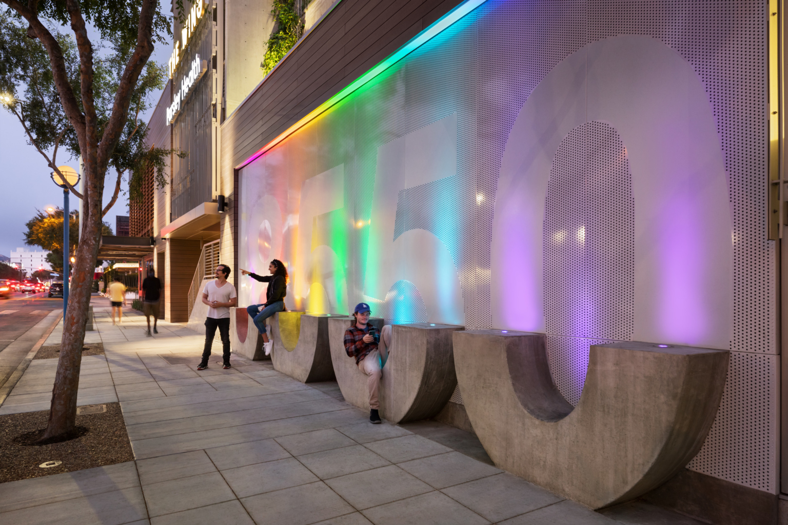experiential graphics as graphic building signage